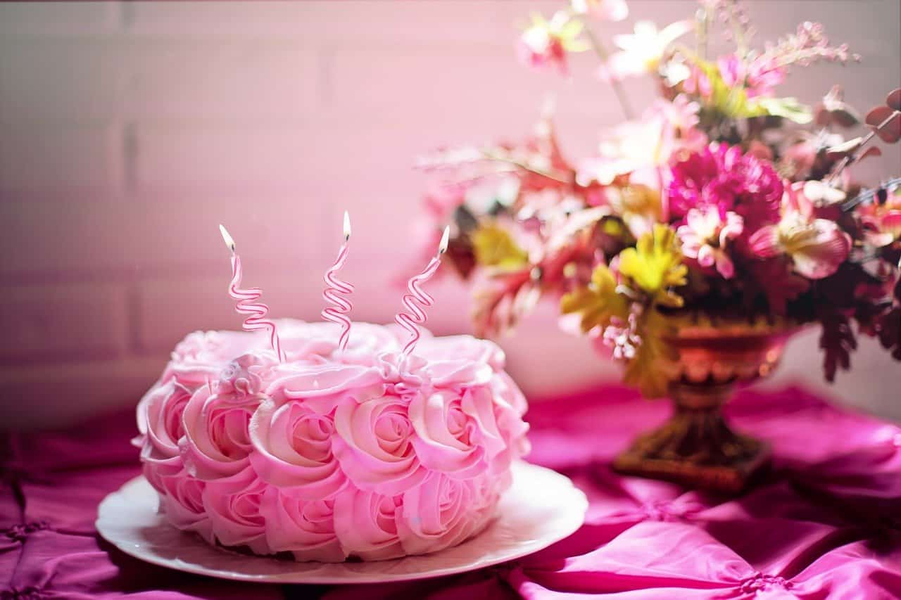 עוגה ורודה