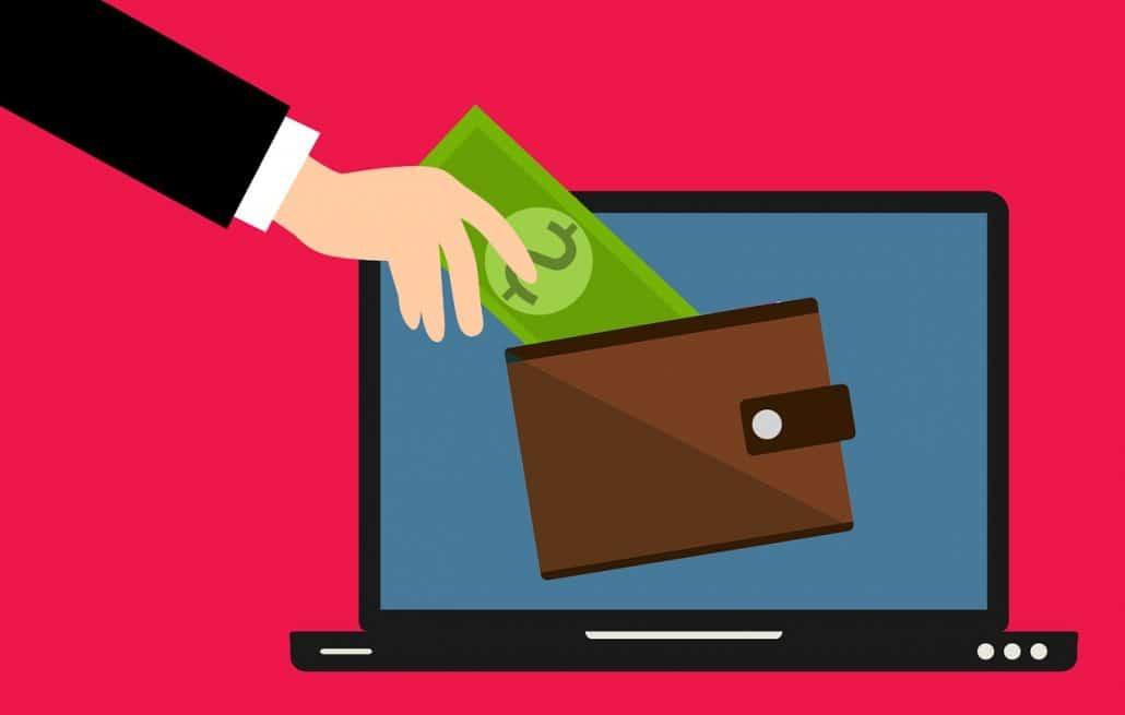 הפקדת כסף בארנק