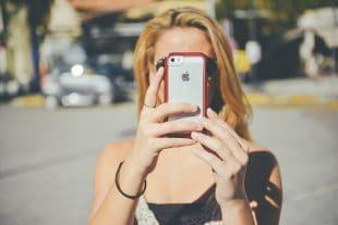 סלפי עם אייפון