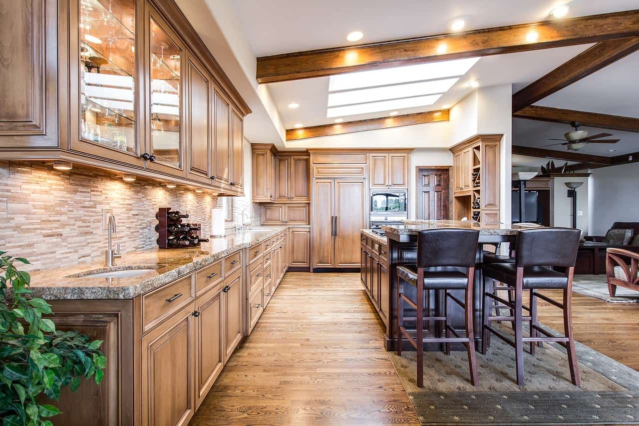 עיצוב תאורה למטבח