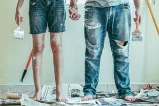 איך צובעים דירה – כל הטיפים לעבודה נקייה